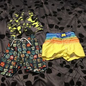 Other - Boys bathing suits & shorts 12-18mos